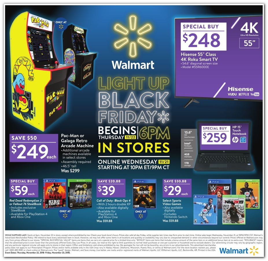 WalMart Black Friday page 32